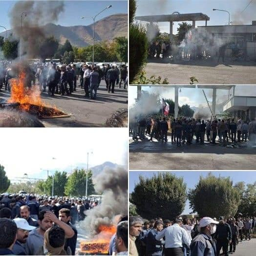 labor protest in Iran