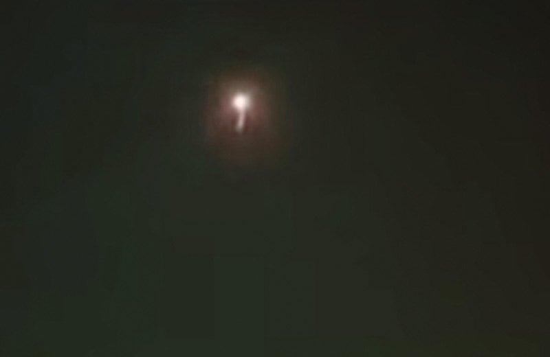 peace process - israel iron dome hits incoming gaza rocket