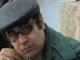 Mohammad Habibi, a political prisoner in Iran.