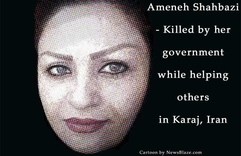 Ameneh Shahbazi killed