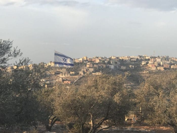 View from Mevo Dotan hills - photo Nurit Greenger