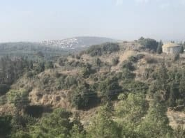 North Shomron-view