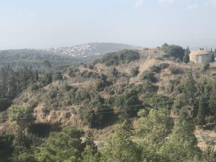 North Shomron-view