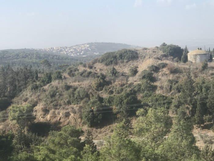 North Shomron view - photo Nurit Greenger
