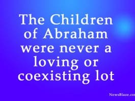the children of abraham. Image by NewsBlaze.com