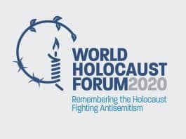 "The Fifth World Holocaust Forum 2020, entitled ""Remembering the Holocaust: Fighting Antisemitism,"""