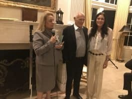 Katherine Kahen, Elite Entrepreneurs, host Sam Delug, Denise Montellano, Executive Assistant to Sam Delug - Photo credit Nurit Greenger