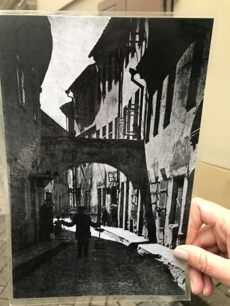 Preserving the past in Vilnius-Vilna, Ghetto street before the Holocaust - photo credit Nurit Greenger