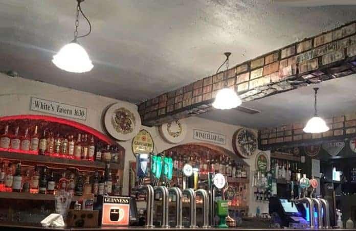 White's Tavern, Belfast's oldest pub. image by White's Tavern.
