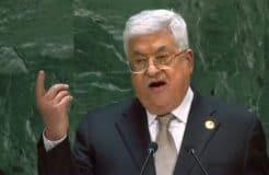 Haman-like Mahmoud Abbas, youtube Screenshot by NewsBlaze.