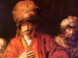 painting by Rembrandt, featured image, public domain