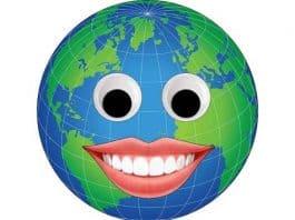 Emoji - Happy-globe