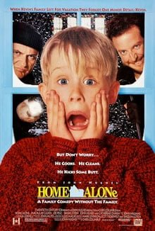 home alone poster. fair use. 20th Century Fox