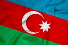 Republic of Azerbaijan flag
