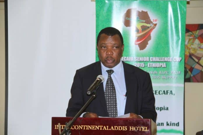 Former CECAFA General Secretary Nicholas Musonye. File Photo CECAFA Media.