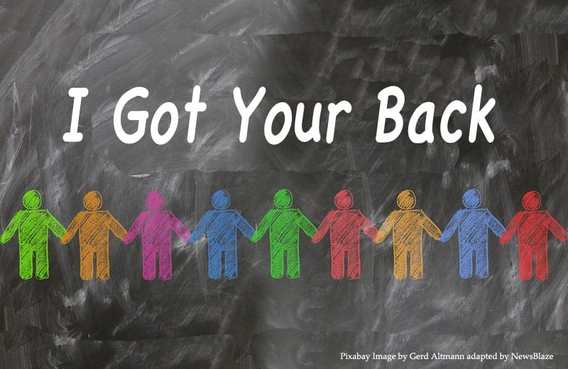 i got your back, gerd altman pixabay image adapted by NewsBlaze