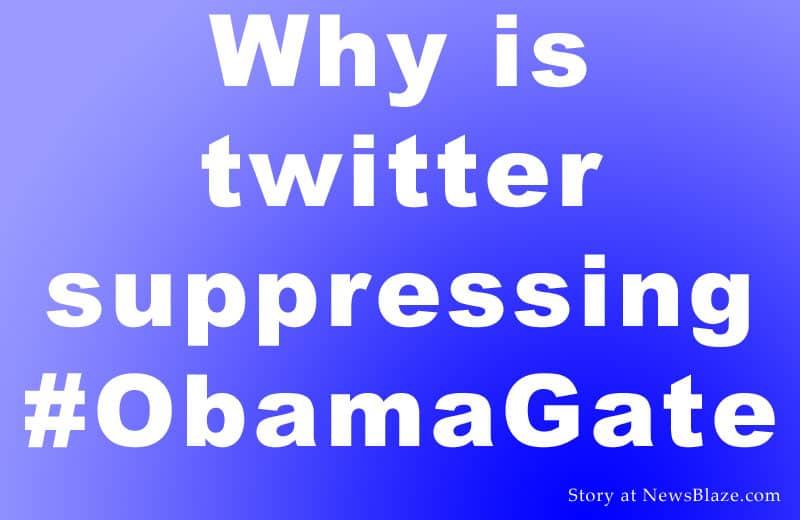 Obamagate hashtag. Image by NewsBlaze