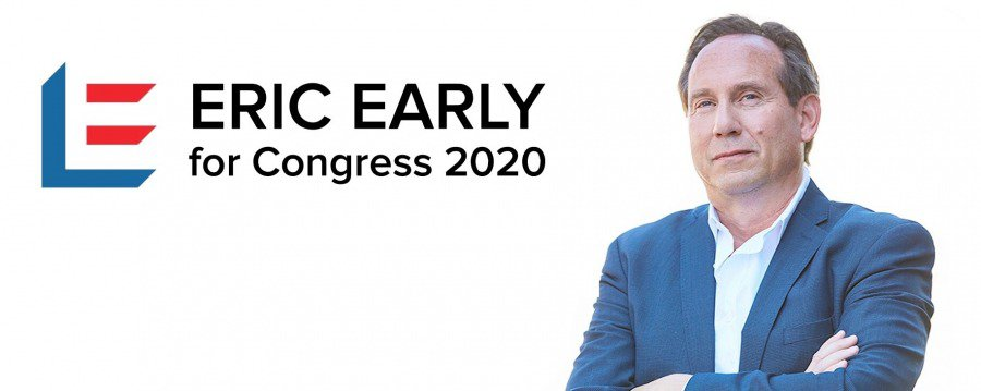 Eric Early: Entregarei Orgulho Americano ao Distrito-28 de Adam Schiff 2