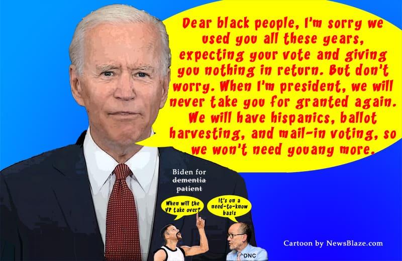 joe biden black vote