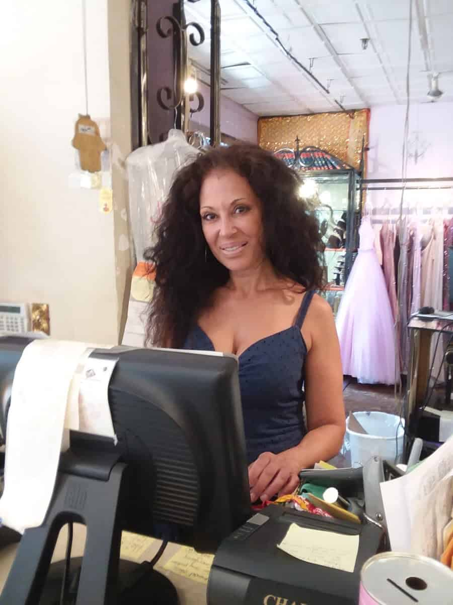 Owner of Oz Boutique: Paz. Photo by David Pambianchi.