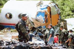 plane crash mexico. Source Mexico Press News