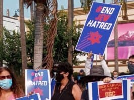 Protesting End Jew Hatred - The Lawfare Project photo