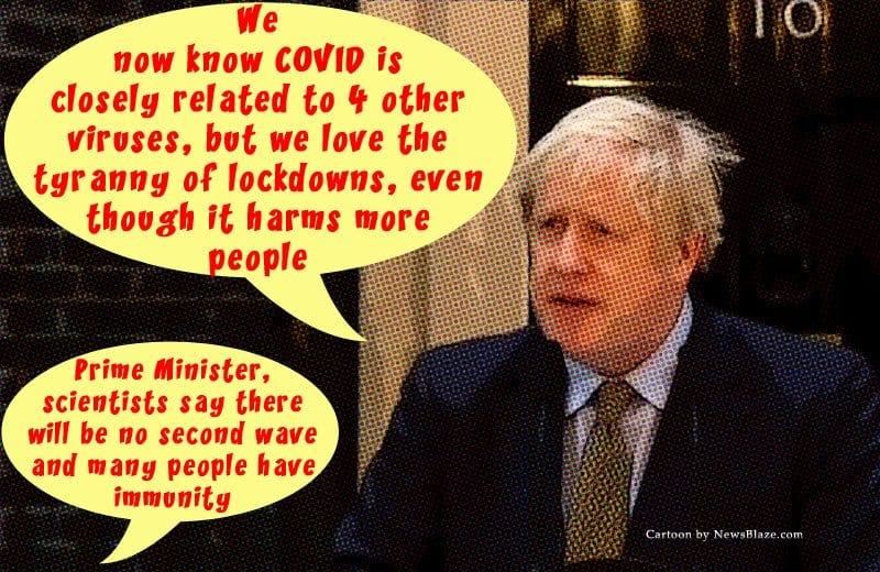 boris johnson covid lockdown