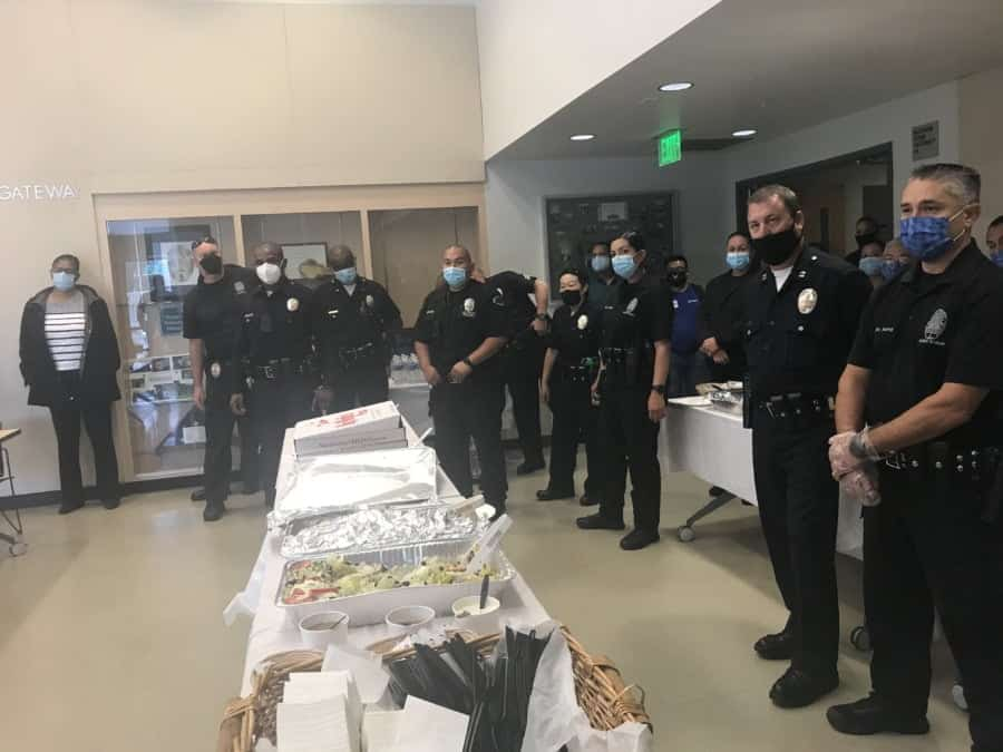 LAPD Lunch