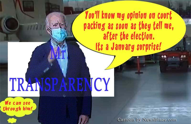 mr transparency joe biden