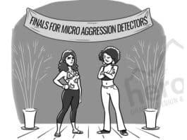 finals for micro aggression detectors - Cartoon by art hartz