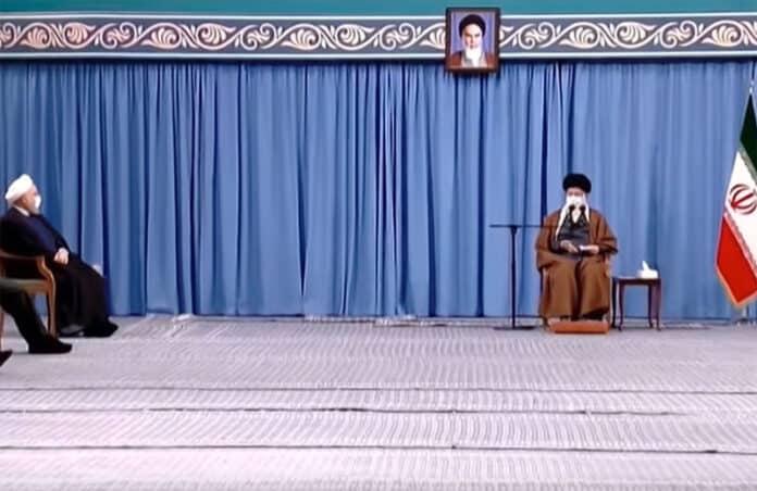 iran social distance