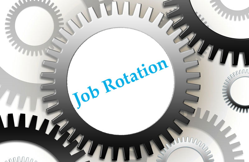Job Rotation. Image by Gerd Altmann from Pixabay, cropped and modified by NewsBlaze