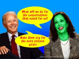 Biden And Harris Plan To Make Conservatives Cry Forever