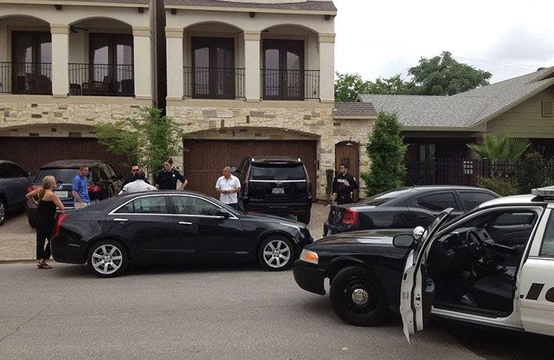 crime scene houston cadillac dealership owner joe stewart murdered may 7 2015. Photo: Houston Police Department