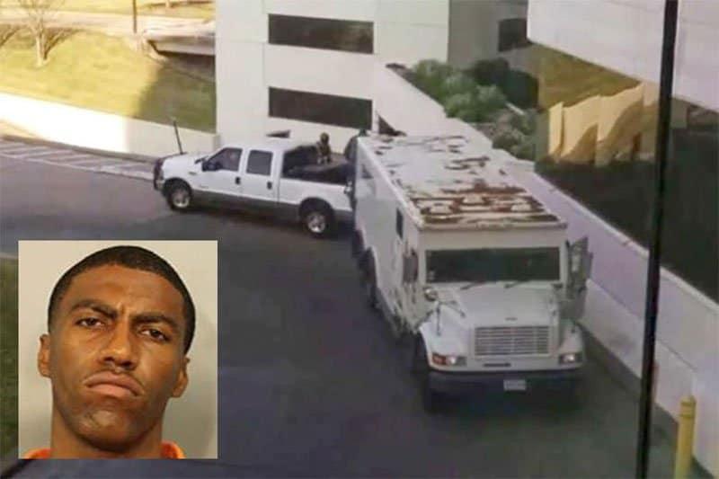sniper redrick batiste armored truck