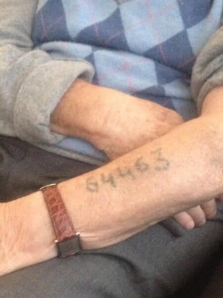 The Tattooed Numbers Refute Holocaust Deniers' Mischief 3
