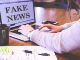 Fake News. Image by memyselfaneye from Pixabay, arranged by NewsBlaze.