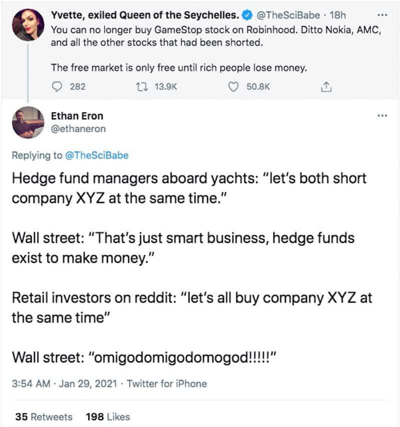 hedge shorts, screenshot by NewsBlaze.
