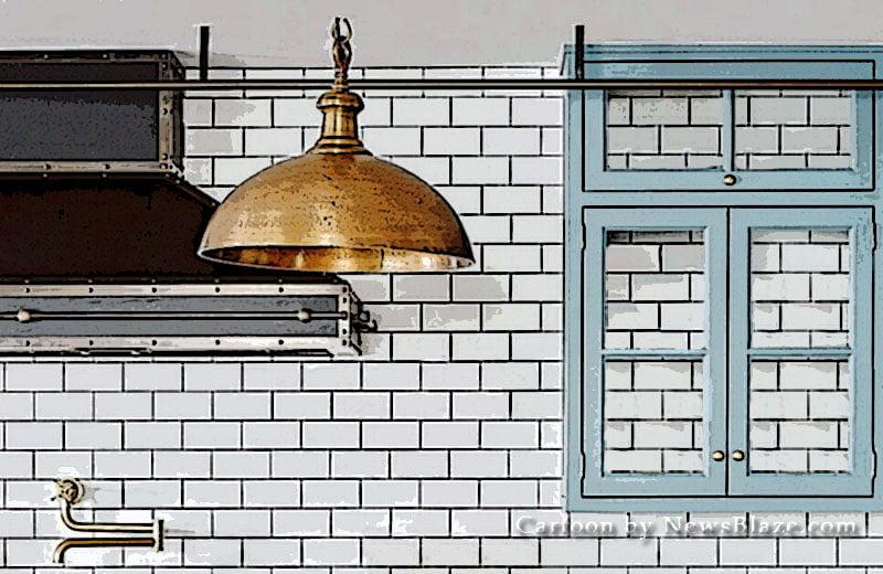 julianne hough hollywood hills kitchen. cartoon by newsblaze.