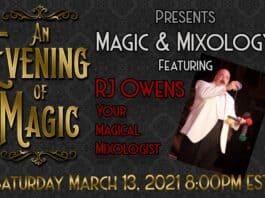 magic mixology show. image c/o Will Roberts