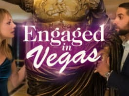Engaged in Vegas film poster courtesy of Random Media