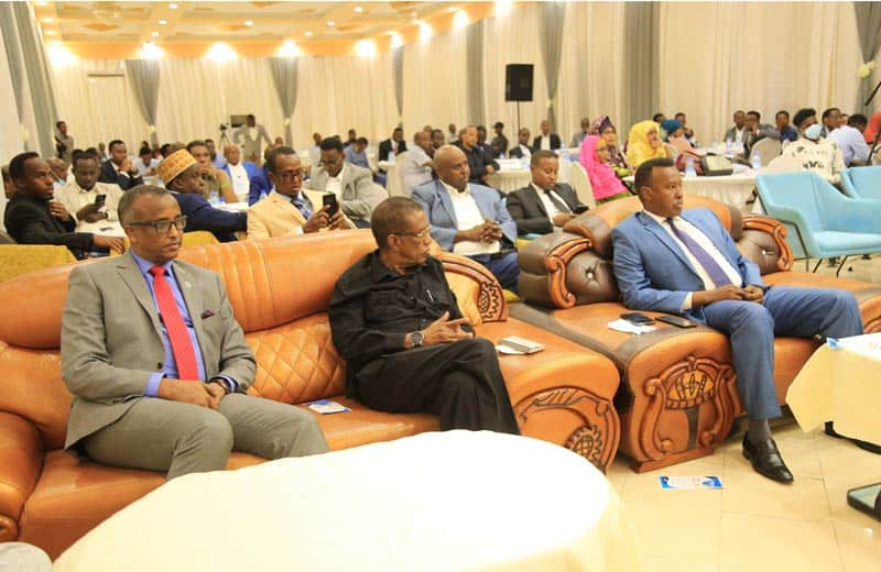 delegates and executives. Photo: Omar Ibrahim Abdisalam