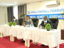 sff annual general assembly executive. Photo c/o Omar Ibrahim Abdisalam.