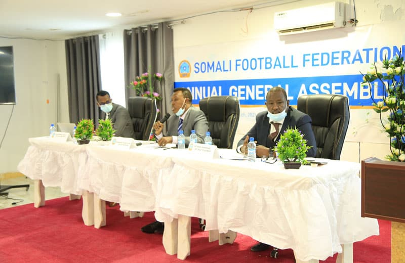sff annual general assembly executive. Photo c/o Omar Ibrahim Abdisalam.