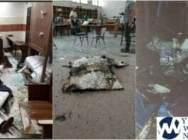 Desecration of the synagogues in the city of Lod - Yeshiva World photo