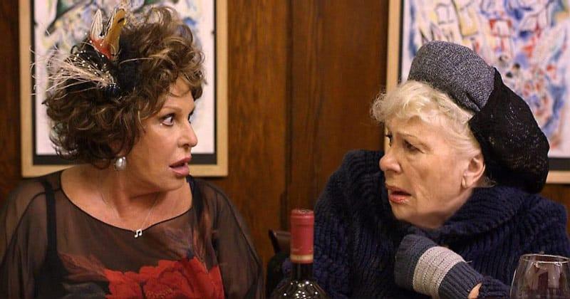 Tango Shalom Lainie Kazan and Renee Taylor still from film