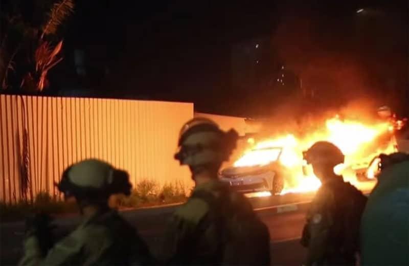 Arab violence in israel