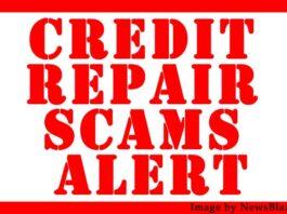 credit repair alert: credit repair scams