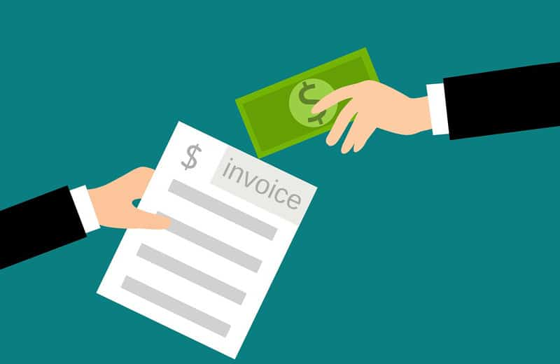 invoice receipt. Image by mohamed Hassan from Pixabay