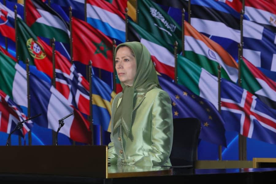 iranian resistance maryam rajavi. NCRI photo.